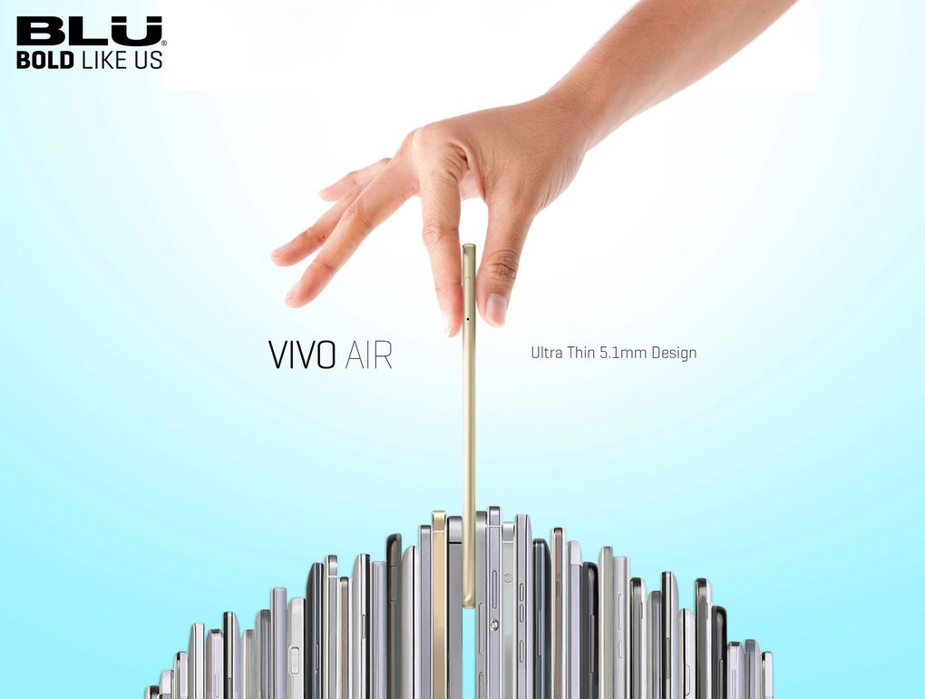 Blu Vivo Air Accessories