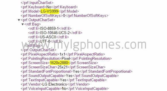 LG G4 VS-999