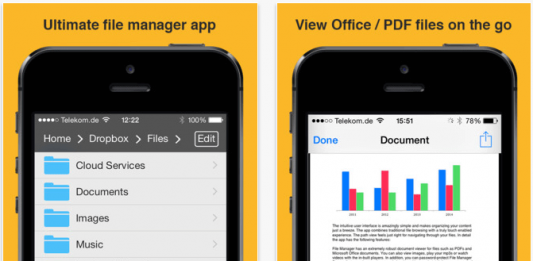 File Manager for iPhone