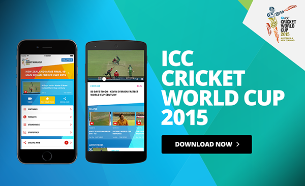 Cricket World Cup iPhone live