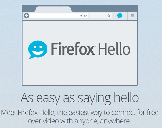 Firefox Hello Logo