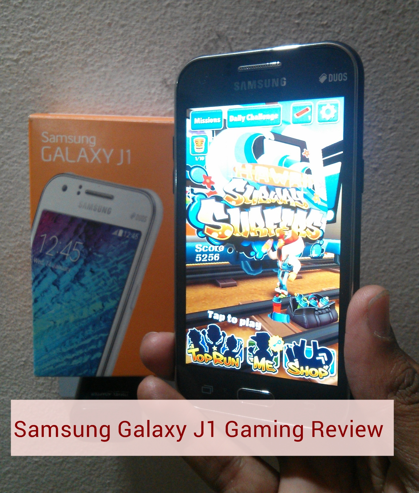 Galaxy J1 Gaming Review