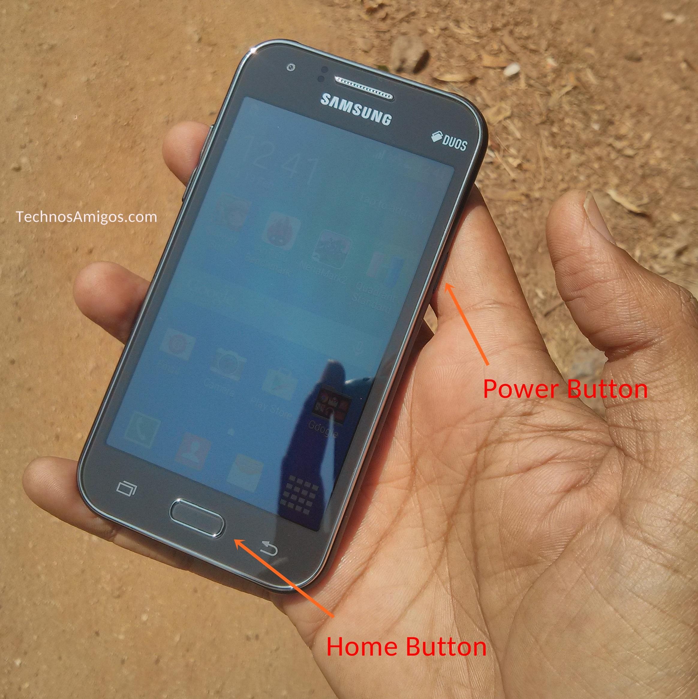 Как сделать скриншот на телефоне самсунг j1