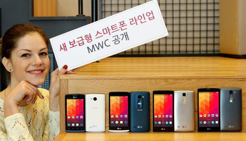 LG Spirit - LG Lollipop phone