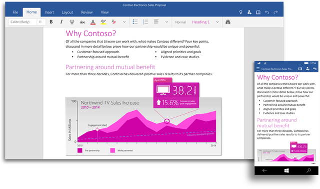 MS Office for Windows-10