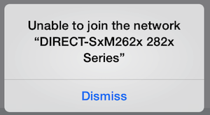 Unable to Join the Network iPhone Error