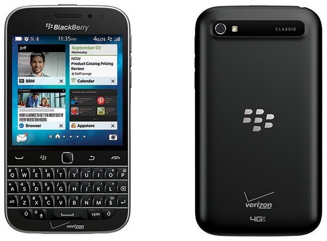 Verizon Blackberry Classic