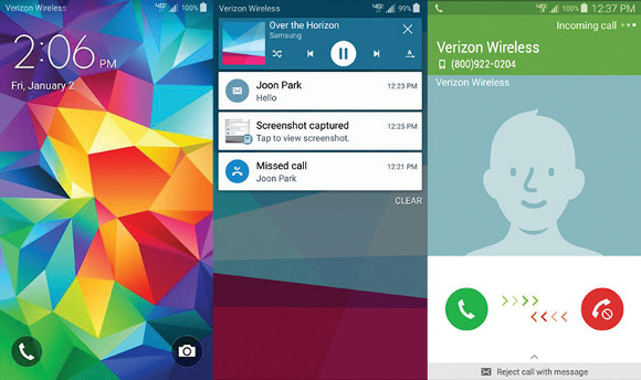 Verizon Galaxy S5 Lollipop Rollout