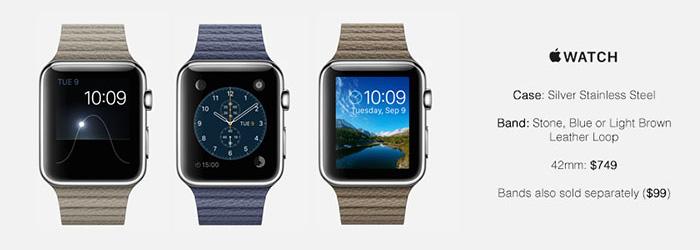 Apple Watch Leather Bracelet