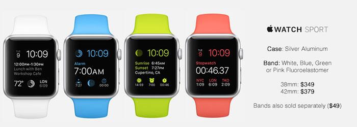 Apple Watch Silver Aluminium