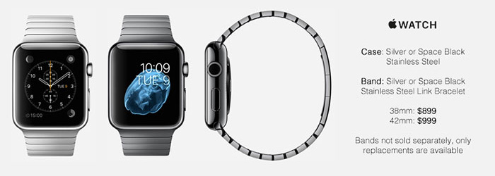 Apple Watch Space Silver