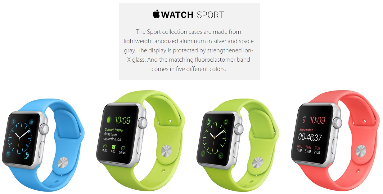 Apple Watch Sport Edition