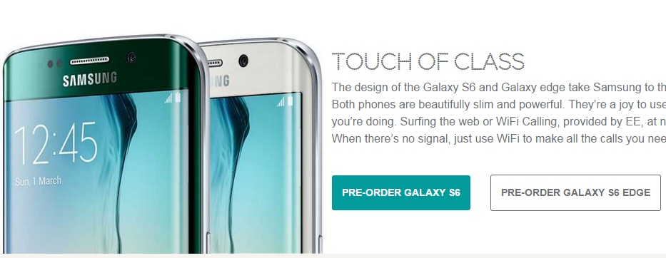 Samsung Galaxy S6 EE