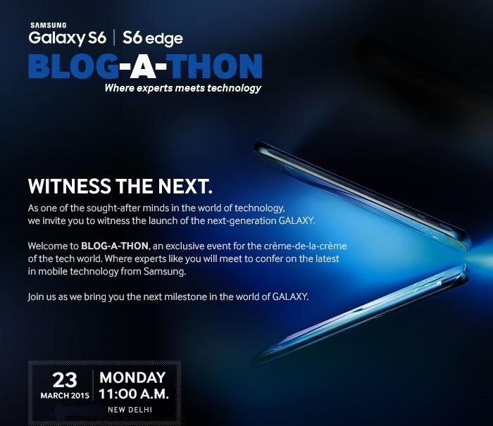 Samsung Galaxy S6 India