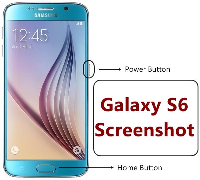 Samsung Galaxy S6 Screenshot