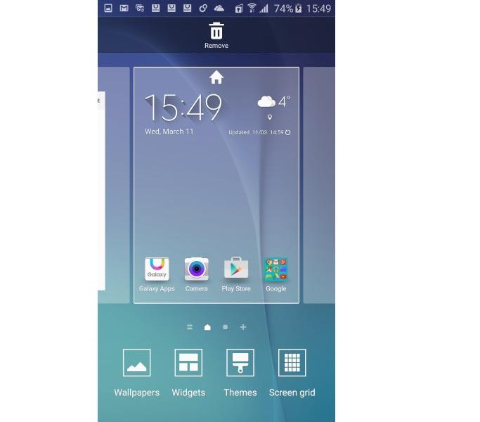 Samsung Galaxy S6 Theme