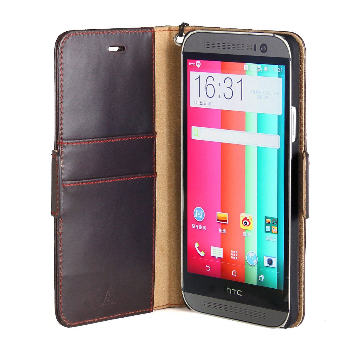 Book Cover Case for HTC One M9