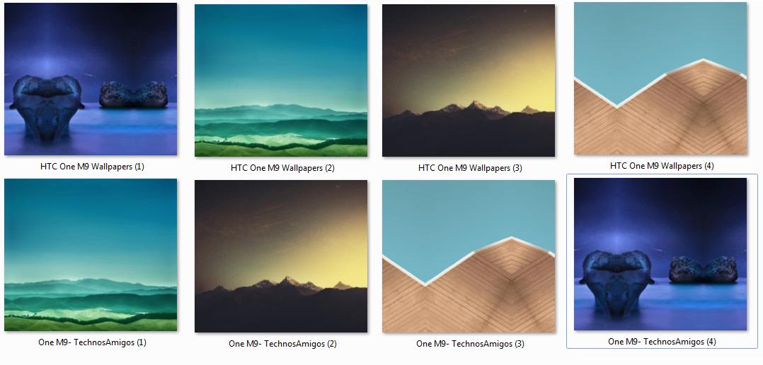 HTC One M9 Stock Wallpaper
