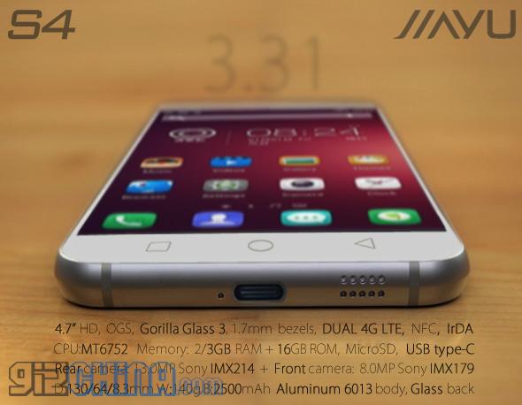 Jiayu S4 Phone