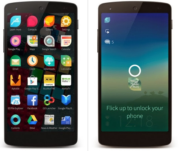 Jolla Sailfish Launcher Apk