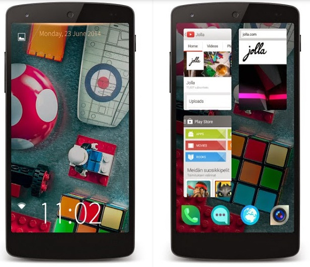 Jolla Sailfish Launcher