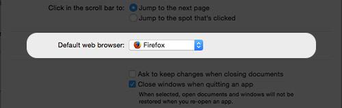 Mac Default Browser