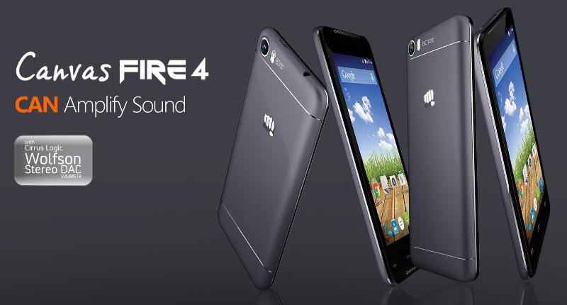 Micromax Canvas Fire 4 Phone