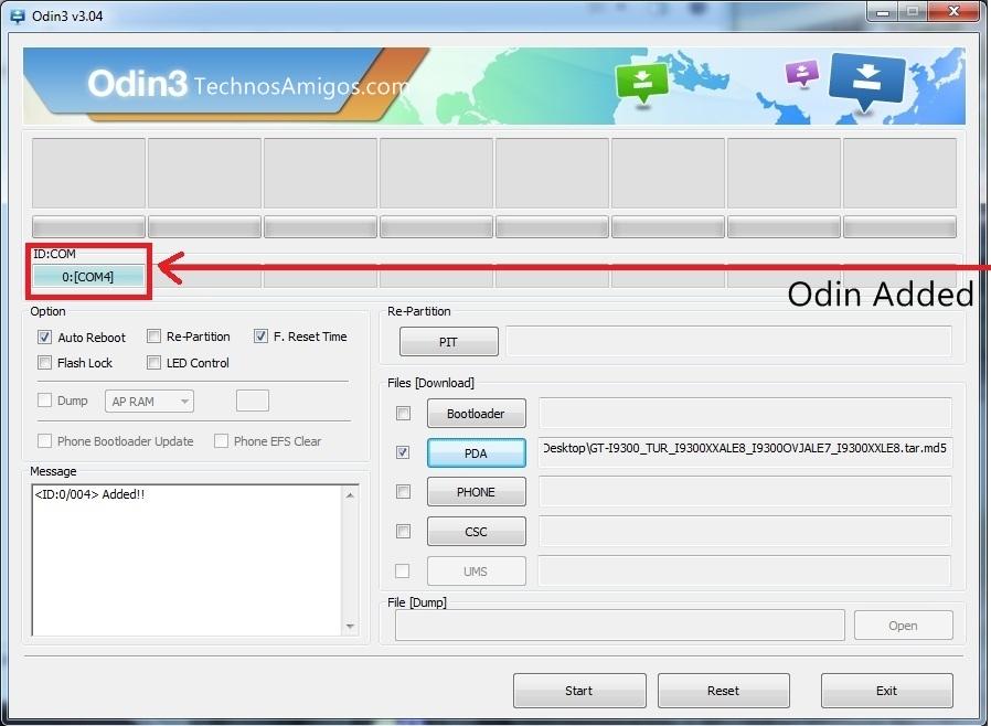 Odin Added