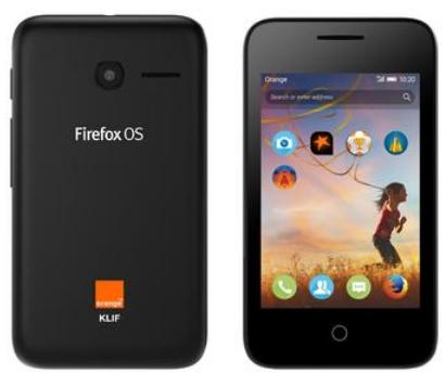 Orange Klif- Firefox Phone