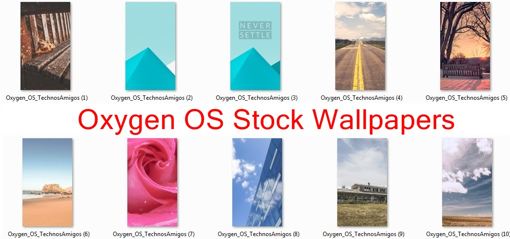 Oxygen OS Wallpapers