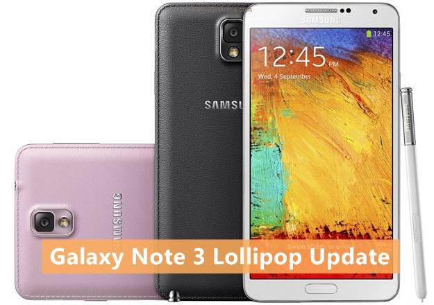 Samsung Galaxy Note Lollipop