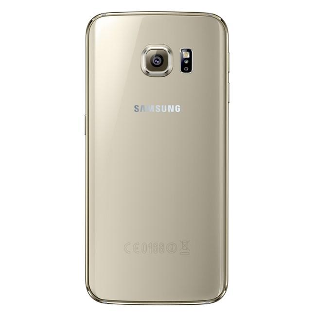 Samsung Galaxy S6 Edge Gold Platinum Back