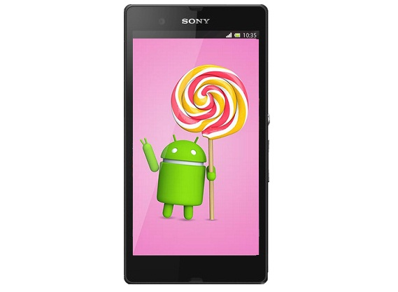 Sony Xperia Z Android Lollipop