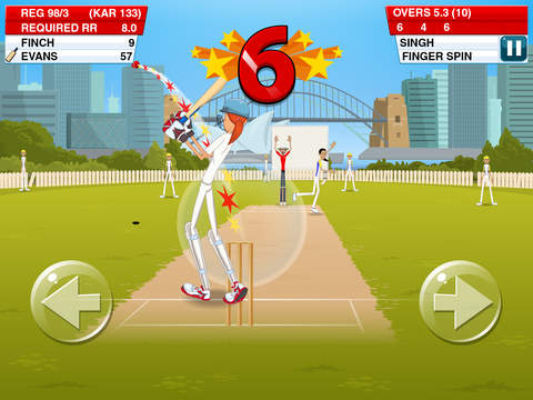 Stick Cricket 2 for iPhone