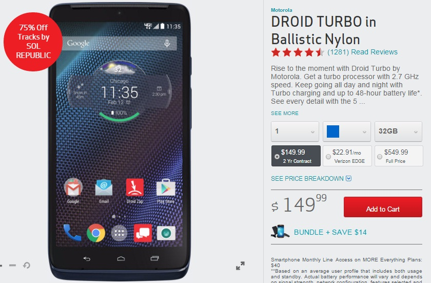 Verizon Droid Turbo