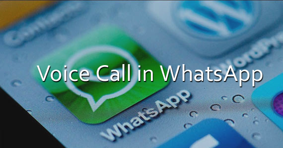 WhatsApp Call for iPhone