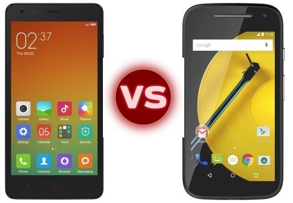 Xiaomi Redmi 2 vs Moto E 2015