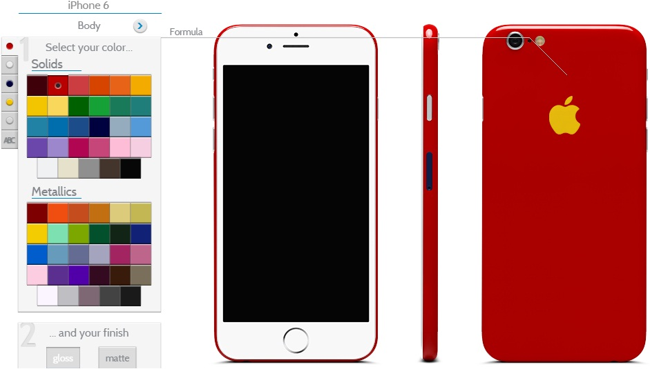iPhone 6 Custom Design
