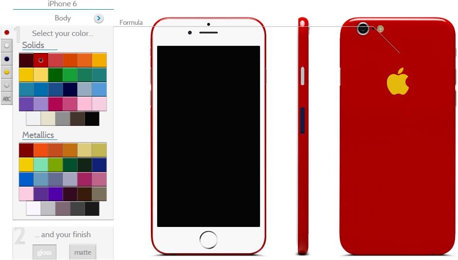 iPhone 6 Custom Design