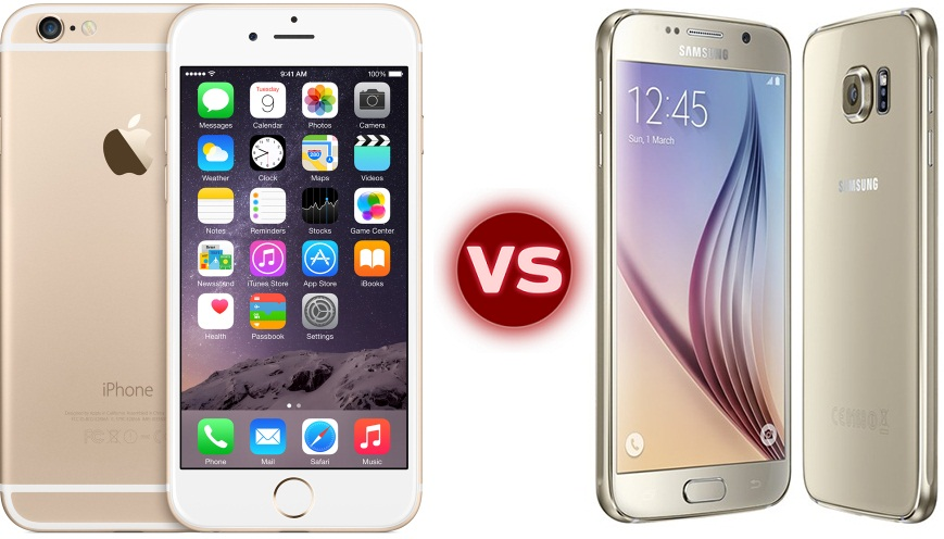 Apple iPhone 6 vs Samsung Galaxy S6