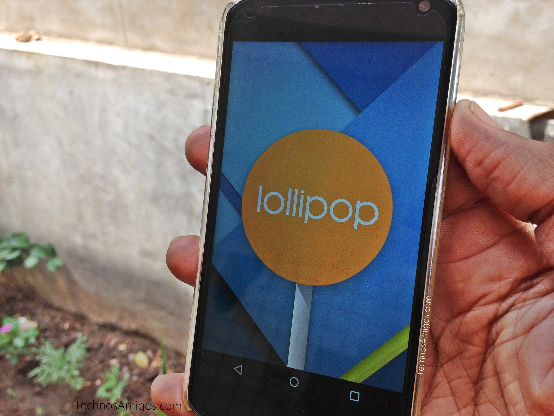 Android Lollipop update