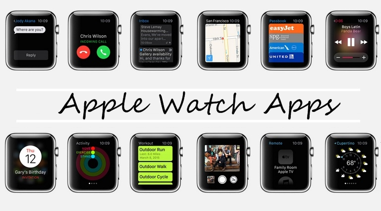 Stock Apple Watch Apps