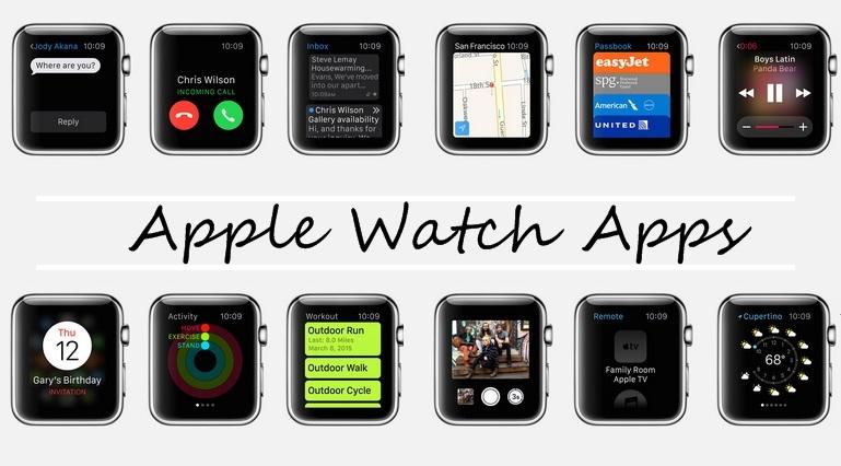 Stock Apple Watch Apps