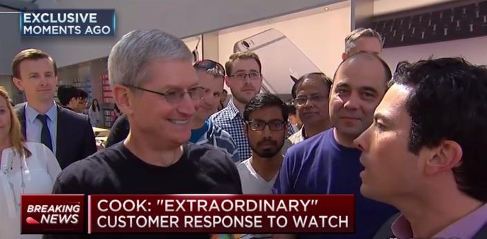 Apple Watch interview