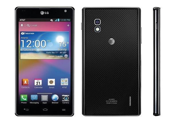 LG Optimus Android update