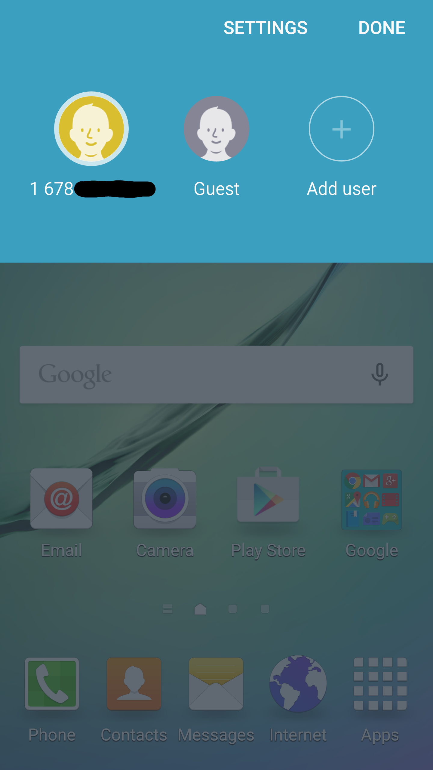 Galaxy S6 Edge Android 5.1