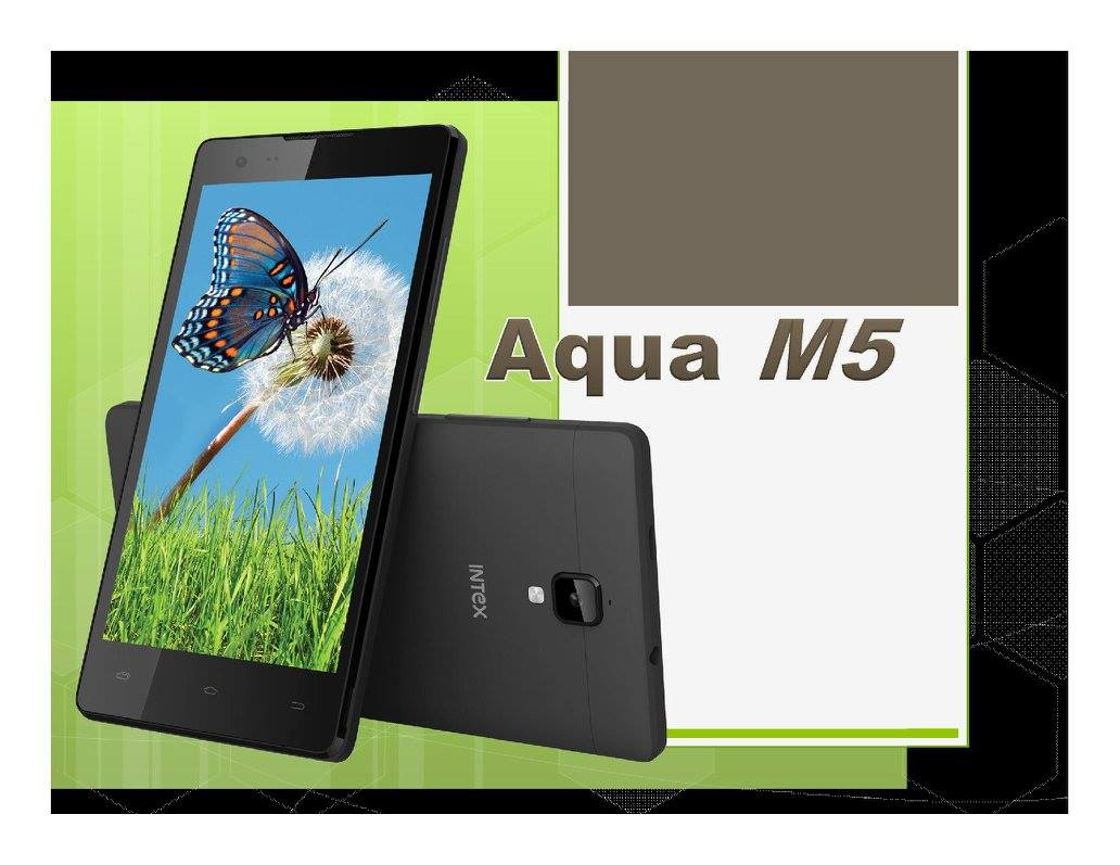 Intex Aqua M5 Phone