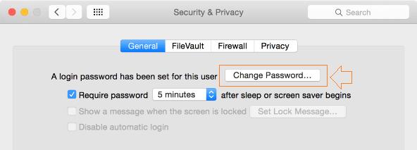 Mac Reset Password