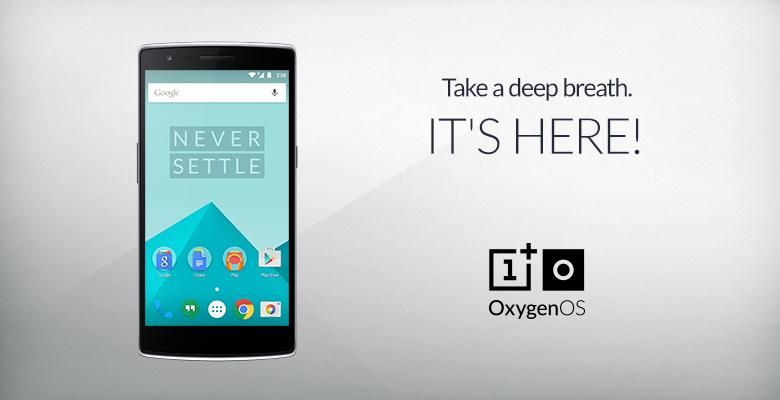 OnePlus One Oxygen OS
