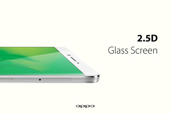 Oppo Bezel-less phone